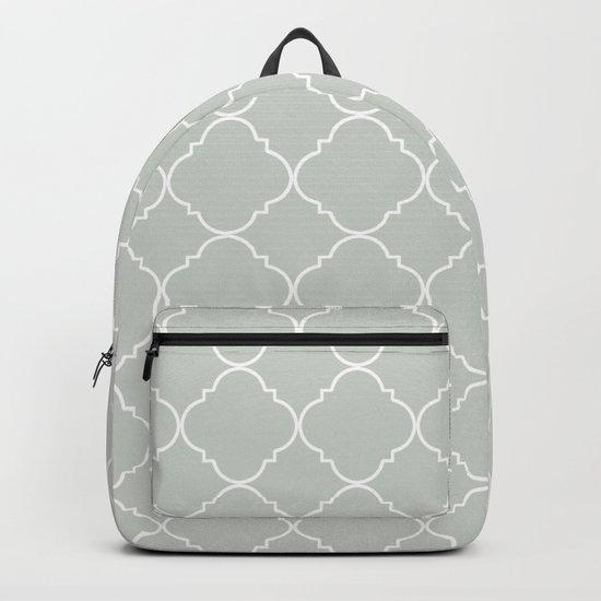Gray Grey Moroccan Sea Salt Backpack