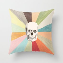 Skull is Cool Throw Pillow