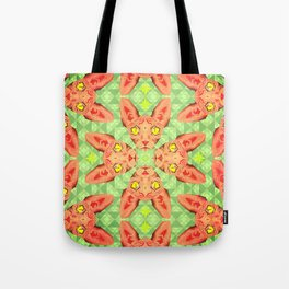Sphynx Cat Pattern Tote Bag