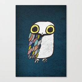 Wise Little Owl Canvas Print