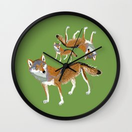 Eastern Wolf (Canis lupus lycaon) (c) 2017 Wall Clock