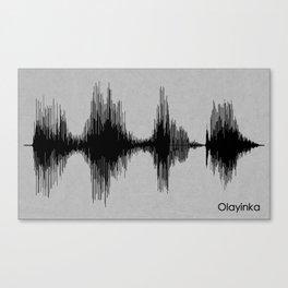 Olayinka Canvas Print