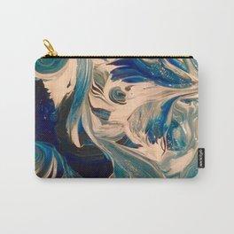 Ocean Swirl Carry-All Pouch
