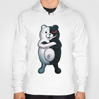 dangan ronpa Hoodies featuring Monobear by Prince Of Darkness