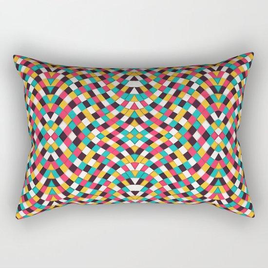 Retrograde Rectangular Pillow