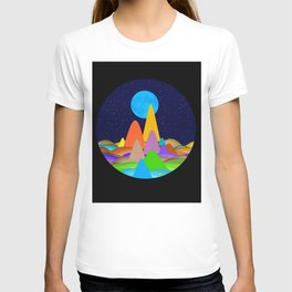 Fanciful Hills -2 T-shirt