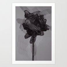 leaf ten Art Print