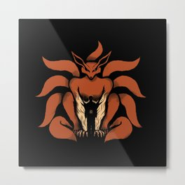 Kurama Power Metal Print