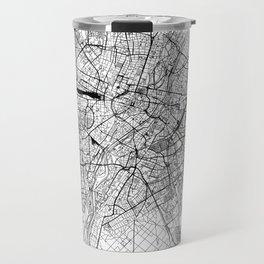 Munich White Map Travel Mug
