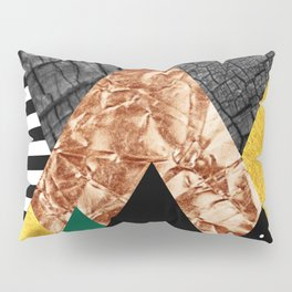 fall abstract triangle Pillow Sham