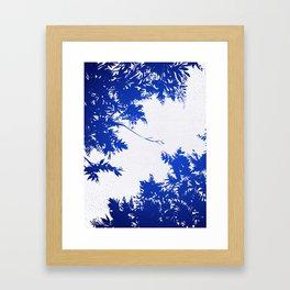 Night's Sky Indigo Framed Art Print
