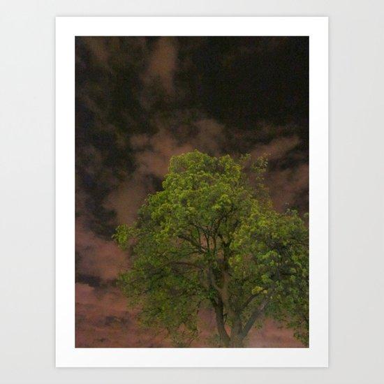 The Tree Accepts Me Art Print
