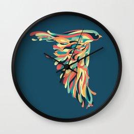 Downstroke Wall Clock