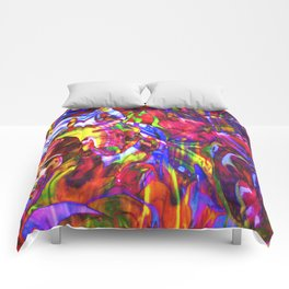Fluid Painting  Comforters