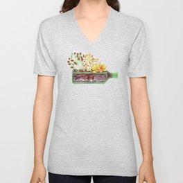Succulent garden Unisex V-Neck