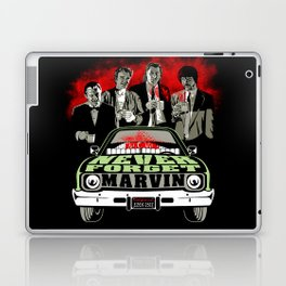 """Marvin"" a.k.a A Pulp Tribute Over Coffee Laptop & iPad Skin"