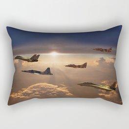 The Flight Home Rectangular Pillow