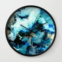Arctic Blue Wall Clock