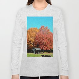 Autumn Picnic in Canada Long Sleeve T-shirt