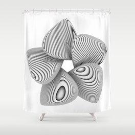 Bio Flower Art Print Shower Curtain