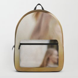 Walking woman 5 Backpack