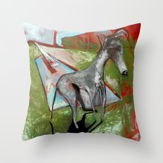 Diving Bored Throw Pillow