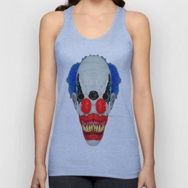 Creepy Clown Unisex Tank Top
