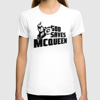 steve mcqueen T-shirts featuring God saves McQueen by dutyfreak