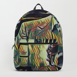 Pablo Escobar Artistic Illustration Picasso Style Backpack