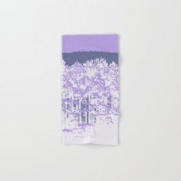 Lavender Mod Trees Hand & Bath Towel