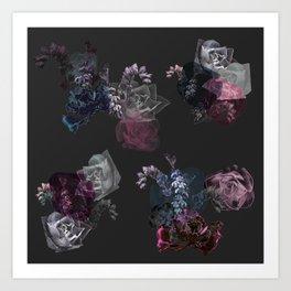 Signature Succulents Art Print