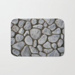 Stone Wall Bath Mat