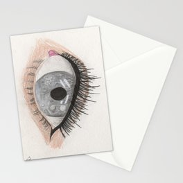 The Eye Sees Mercury Stationery Cards