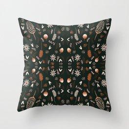 Autumn feeling pattern Throw Pillow