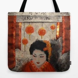 THE RED THREAD Tote Bag