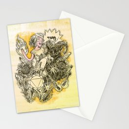 Solar Plexus Chakra - Witches of the Nine Worlds Stationery Cards