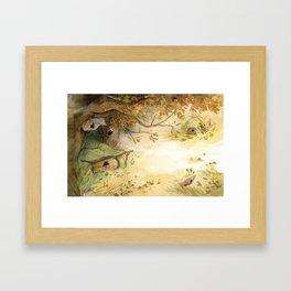 L'Abri - morning Framed Art Print