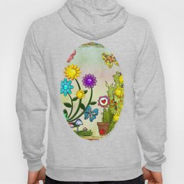 A Very Hippy Day Whimsical Fantasy Hoody