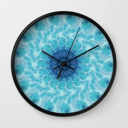 Celestial Joy Mandala Wall Clock