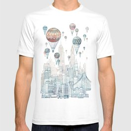 Voyages Over New York ~Refresh T-shirt