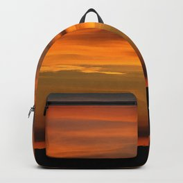 Pacific Ocean Sunset Backpack