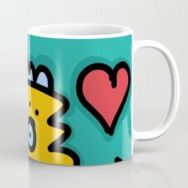 Love will save the world Street Art Graffiti Coffee Mug