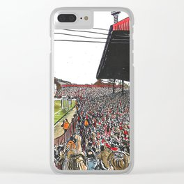 LAST EVER GOAL Clear iPhone Case