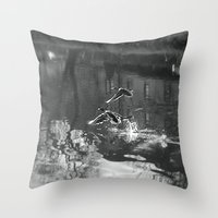 ducks Throw Pillows featuring Ducks by Rose Etiennette