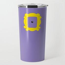Friends Peephole Frame Travel Mug