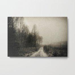 Snowfalls Gone By Metal Print