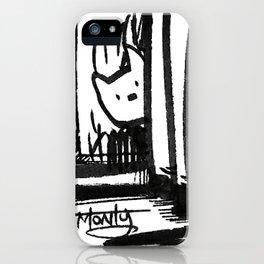 Hidden Kitty iPhone Case
