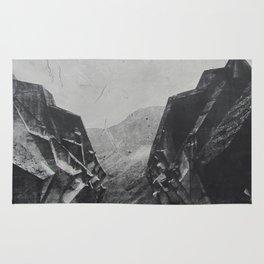 Concrete Mountains Rug