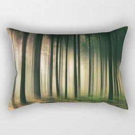 Misty Morning Light Rectangular Pillow