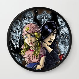 Close Encounters of The Dead Kind Wall Clock